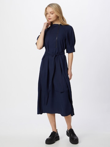 FRENCH CONNECTION Shirt Dress 'SINNI ENZO' in Blue