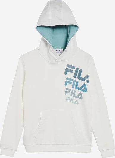 FILA Sweatshirt 'Pino' in rauchblau / aqua / weiß, Produktansicht