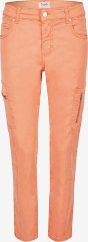 Angels Cargohose 'Ornella Cargo' in Orange