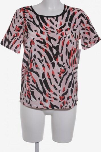 modström Kurzarm-Bluse in S in pastellpink / rot / schwarz, Produktansicht