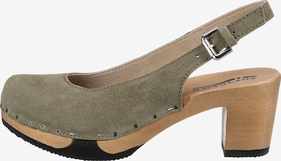 SOFTCLOX Pumps in khaki, Produktansicht