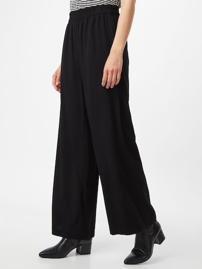 ESPRIT Pantalon en noir, Vue avec modèle