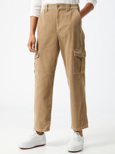 Laisvo stiliaus kelnės 'Harper' iš Gina Tricot , spalva - ruda, Modelio vaizdas