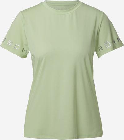 Röhnisch Camiseta funcional 'HERITAGE' en verde pastel / plata, Vista del producto