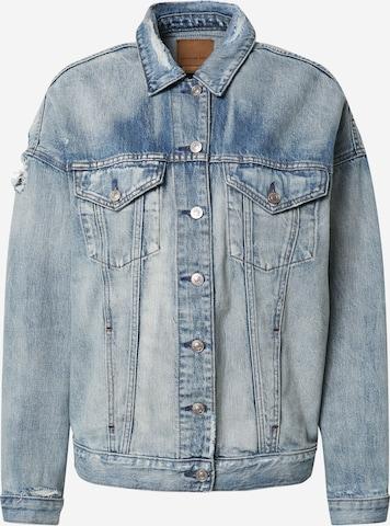 American Eagle Between-Season Jacket in Blue