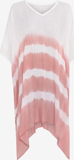 HALLHUBER Strandkleid in rosé / weiß, Produktansicht