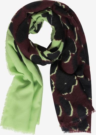STREET ONE Schal in braun / grün / schwarz, Produktansicht