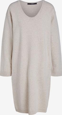 SET Pletené šaty - Béžová