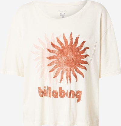 BILLABONG Performance Shirt in Beige / Rusty red, Item view