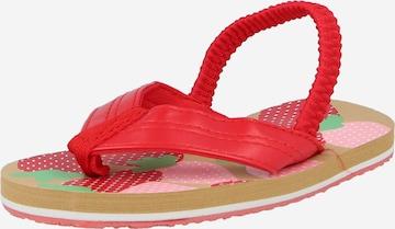 Sandales BECK en rouge