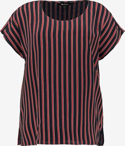 Ulla Popken Shirt in navy / rot: Frontalansicht