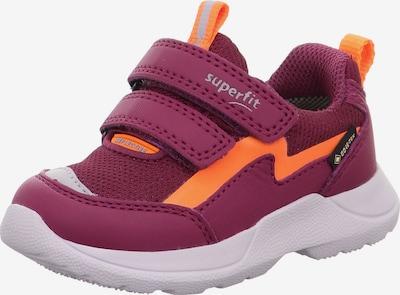 SUPERFIT Sneaker 'RUSH' in orange / weinrot, Produktansicht