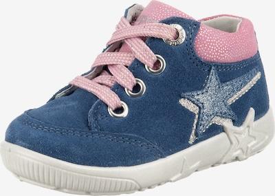 SUPERFIT Chaussons 'Starlight' en bleu violet / rose / argent, Vue avec produit