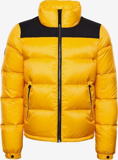 Superdry Winterjas in de kleur Geel / Zwart, Productweergave
