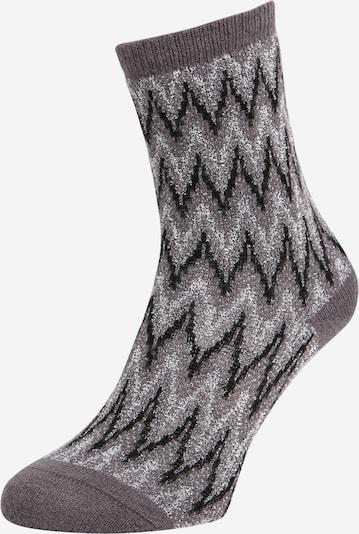 FALKE Socken 'Bread Crumb' in hellgrau / schwarz, Produktansicht