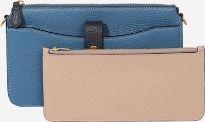 COACH Bolso de hombro 'Noa' en azul ahumado / talco / rojo, Vista del producto