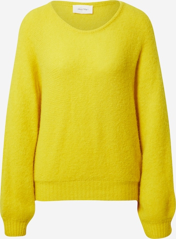 AMERICAN VINTAGE Sweater 'East' in Yellow