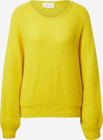 AMERICAN VINTAGE Pullover 'East' in gelb, Produktansicht