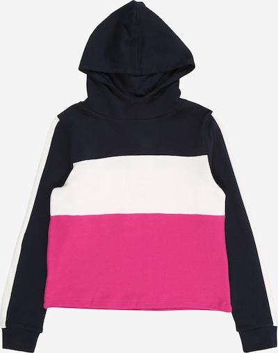 NAME IT Sweatshirt in dunkelblau / pink / weiß, Produktansicht