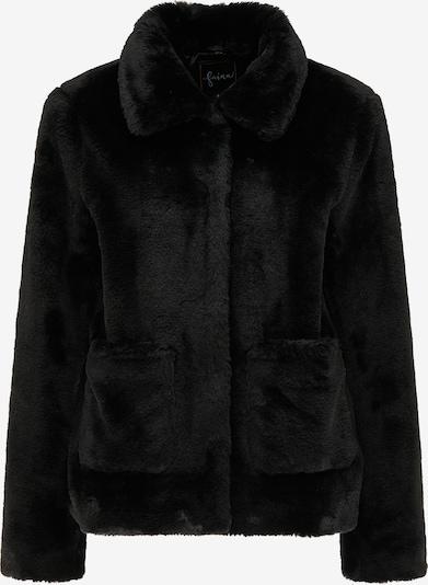 faina Winterjacke in schwarz, Produktansicht