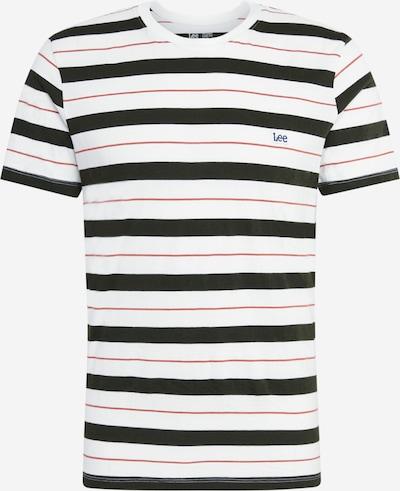 Lee T-Shirt in schwarz / weiß, Produktansicht