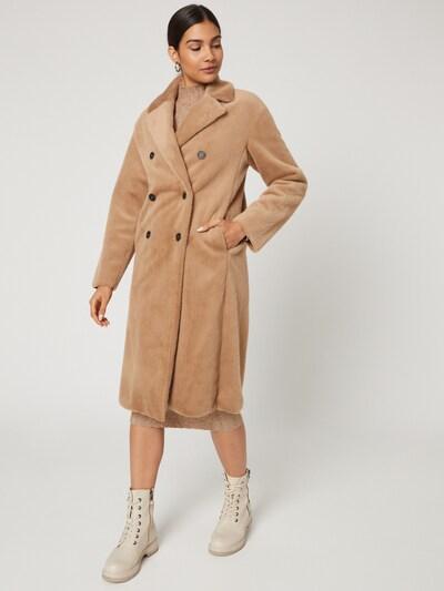Guido Maria Kretschmer Collection Manteau mi-saison 'Lorain' en beige, Vue avec modèle