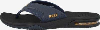 REEF Strand-/Badeschuh ' Fanning ' in marine / gelb, Produktansicht