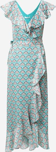 Freebird Kleid in jade / rosa / schwarz / weiß, Produktansicht