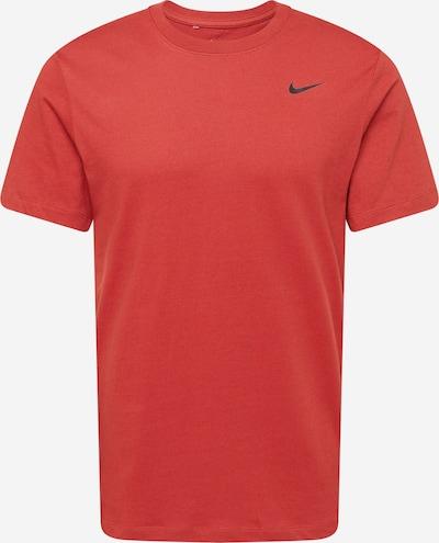 NIKE T-Shirt fonctionnel en rouge, Vue avec produit
