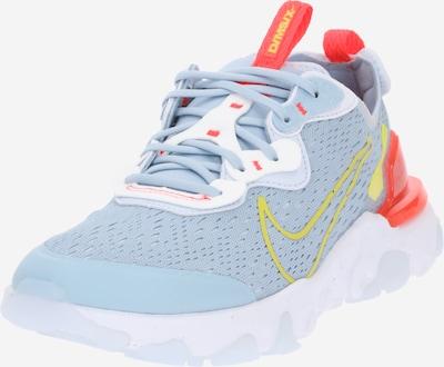 NIKE Спортни обувки 'React Vision' в светлосиньо / жълто / оранжево-червено, Преглед на продукта