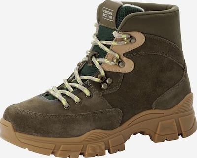 CAMEL ACTIVE Boots en noisette / kaki / vert foncé, Vue avec produit
