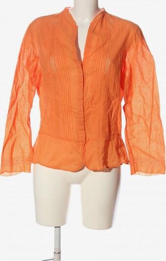 Cortefiel Langarm-Bluse in XL in hellorange, Produktansicht