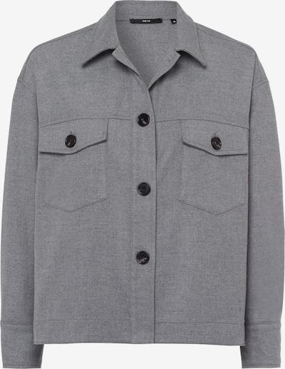 zero Hemdjacke in grau, Produktansicht