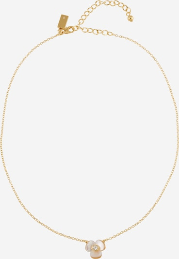 Kate Spade Necklace in Cream / Gold, Item view