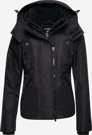 Superdry Jacke in dunkelblau / schwarz, Produktansicht