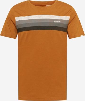 Ragwear T-shirt i brun