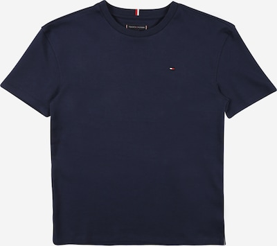 TOMMY HILFIGER Shirt in de kleur Donkerblauw / Watermeloen rood / Wit, Productweergave