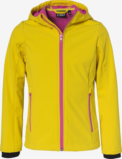 CMP Outdoorjacke in gelb / pink, Produktansicht