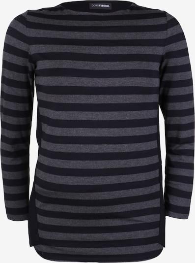 Doris Streich Shirt mit Streifen in grau, Produktansicht