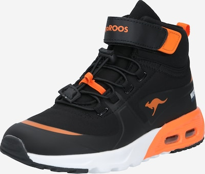 KangaROOS Sneaker 'KX-Hydro' in neonorange / schwarz: Frontalansicht