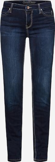 Soccx HE:DI Slim Fit Jeans mit Kontrastnähten in blau, Produktansicht