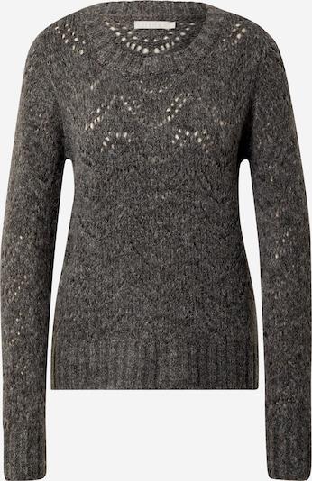 PIECES Pullover in basaltgrau, Produktansicht
