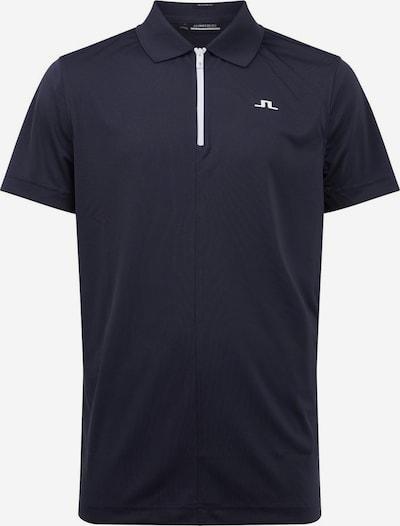 J.Lindeberg Functioneel shirt 'Fredric' in de kleur Nachtblauw / Wit, Productweergave