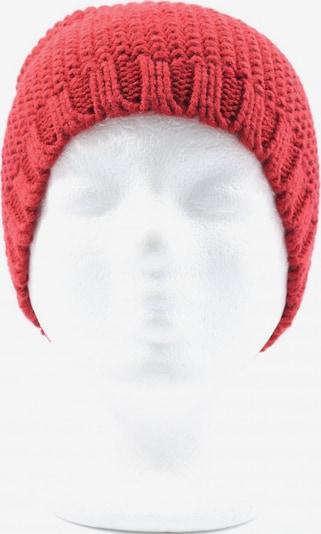 Tchibo Stoffmütze in XS-XL in rot, Produktansicht