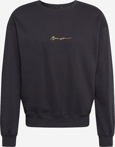 Mennace Sweat-shirt en noir, Vue avec produit