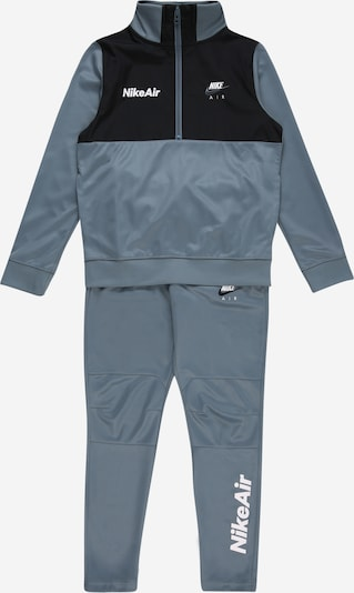 Nike Sportswear Trainingsanzug in himmelblau / schwarz, Produktansicht
