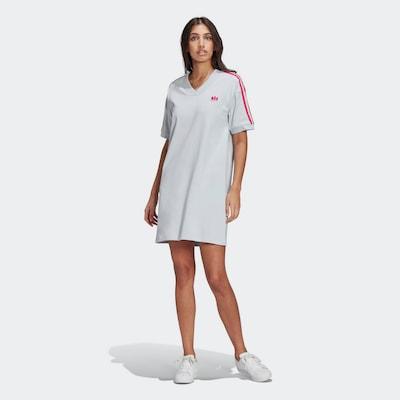 ADIDAS ORIGINALS Kleid in pastellblau / pink, Modelansicht