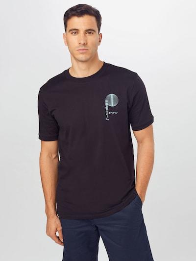 HUGO Shirt 'Dafu' in blue / black, View model