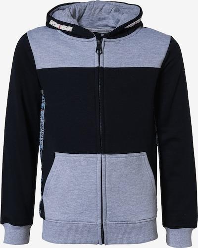 Džemperis iš LEMON BERET , spalva - kobalto mėlyna / šviesiai mėlyna / šviesiai pilka / raudona, Prekių apžvalga