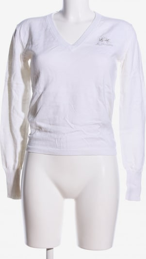 La Martina Sweater & Cardigan in S in White, Item view